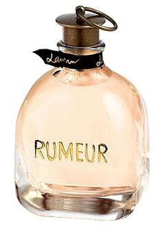 Rumeur by Lanvin is a white Floral Woody Musk fragrance with magnolia in the top. Orange blossom, plum, rose, jasmine and lily-of-the-valley in the middle. Amber, patchouli and musk in the base. - Fragrantica