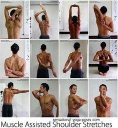 allungamento muscolo spalla --sito molto interessante
