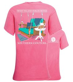 Southern Couture Porch Swings Sweet Tea Comfort Colors T-Shirt
