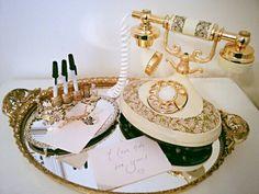 VE Rentals: Empress Rotary Telephone 1973 retro vintage!