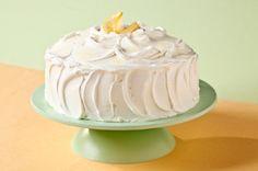 Cremoso pastel de limón