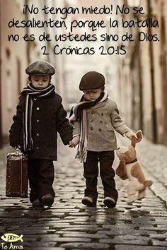 2 Crónicas 20:15 facebook.com/jesusteamamgaministries