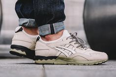 ASICS' GEL-Lyte V has decided not to migrate south, not to hibernate – the retro runner is taking winter head on.