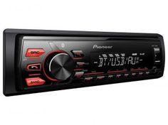 Som Automotivo Pioneer MVH-288BT Bluetooth - MP3 Player Rádio AM/FM Entrada USB Auxiliar