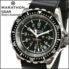 Established in 1939, MARATHON supplies commercial, government and military clients around the world.  MARATHON's Swiss manufacturing plant give the company full control of production, export and distribution of its highest quality timing instruments.  MARATHON Watch is currently 'ONLY' manufacturer supplying to U.S. Military. $960.00