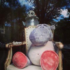 Un hipopótamo y una tortuguita :) #softtoys #peluches #pelucheando