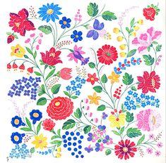 Hungarian Embroidery (Kalocsa)