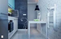 Podoba Wam się taka nowoczesna kuchnia z dominującą bielą? W Eurostandardzie pomożemy Ci osiągnąć podobny efekt w Twoim domu! http://eurostandard.pl/  Foto: http://www.homebook.pl/inspiracje/kuchnia/97864_-kuchnia-styl-vintage