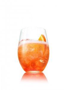 Aperol Spritz cocktail - only 120 cals!