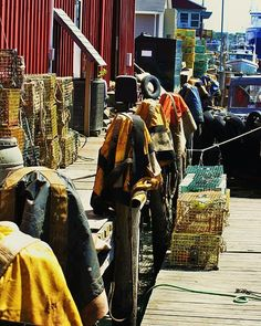 fishermen's gear Portland, Maine