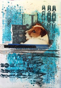 Maura shares her art journal with us on the Simon Says Stamp Monday challenge blog! Take a look!