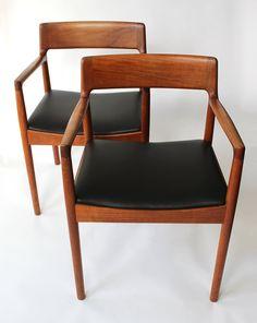 Johannes Norgaard Mid Century Danish Chairs