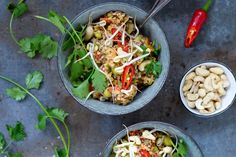 One Pot Thai quinoagryde