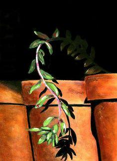 32 Super Ideas For Garden Vertical House Plants Garden Shed Diy, Garden Party Decorations, Plant Painting, Flower Pots, Flowers, Daily Painters, Glass Garden, Plant Decor, Art Blog