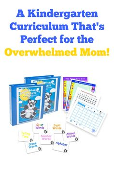 Perfect Kindergarten Curriculum for the overwhelmed homeschooling mom