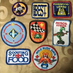 Vintage Boyscout patches These are authentic Boy Scout patches removed from an Eagle Scout's uniform. Smash that gender binary! Each patch sold separately at $6 or you can have the bungle for $40 Accessories