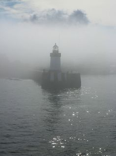 Guernsey lighthouse, Channel Islands