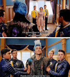 Suit of armer strong and true Make this metal bust a move! Disney Princess Memes, Disney Channel Descendants, Descendants Cast, Disney Channel Stars, Descendants Videos, Funny Spongebob Memes, Funny Disney Jokes, Disney Memes, Disney Quotes