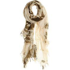 CHAN LUU Hippie Cashmere Silk Blend Scarf ($109) ❤ liked on Polyvore featuring accessories, scarves, dk olive, tie dyed scarves, cashmere scarves, tie dye scarves, cashmere shawl and tie dye shawl