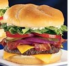 Another burger that I recommend, the Sirloin Burger from Jack in the Box, really good and full of flavor.