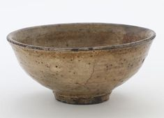 Korea, Jeollanam-do province, Undaeri kilns, buncheong ware Joseon period, 1550–90 Stoneware with white slip dipped under clear glaze Gift of Charles Lang Freer