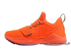 the latest d927e c00e3 Nike PG 1 Orange 878627 ID8 Chaussures Nike Release Pour Homme orange-Air  Jordan série   Air Jordan Pas cher France En Online