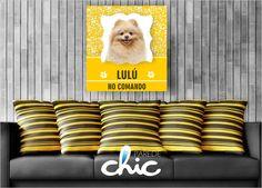 Coleção de Placas decorativas da Parede Chic Animais. Coloque uma imagem do seu bichinho de estimação na parede. Decore sua parede #PlacaDecorativa #AdesivoDeParede #ParedeChic #DecoracaoDeParede #Decoracao #ideias #animais #pets #placasanimais