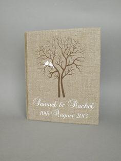 Großes Fotoalbum für die Hochzeit von Traumhochzeit auf DaWanda.com
