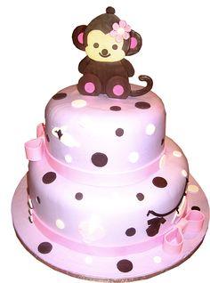 Baby Monkey - Baby Shower Cake