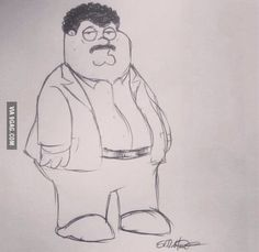 Neil DeGrasse Tyson posted this picture Seth MacFarlane drew for him.