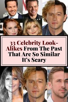 These celebrity look-alikes from the annals of history may have you wondering whether everyone from Jennifer Lawrence to Eminem is actually immortal. Celebrity Look, Jennifer Lawrence, Eminem, Interesting Facts, Fun Facts, The Past, Collections, Science, Motivation