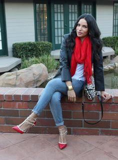 Back to Basics :: White tee + Jeans