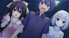 Tags: Anime, Compile Heart, Tsunako, Date A Live, Yatogami Tohka, Itsuka Shidou, Tobiichi Origami