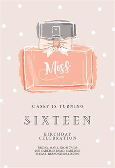 Miss - Free Printable Birthday Invitation Template | Greetings Island