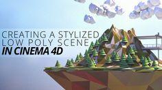 Creating a Stylized Low Poly Landscape in CINEMA 4D - Digital-Tutors