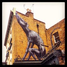 #love this #mural #art @victoriainnse15 #pub #Peckham #Dulwich It's a #Kooky #London > http://bit.ly/11XgicP #ig_London #igLondon #London_only #UK #England #English #quirky #odd #weird #photoftheday #photography #picoftheday #igerslondon #lovelondon #timeoutlondon #instalondon #londonslovinit #mylondon #banksy #Padgram