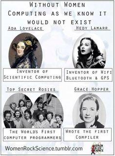 Female Inventors (Jennifer Beals (jenniferbeals) auf Twitter)