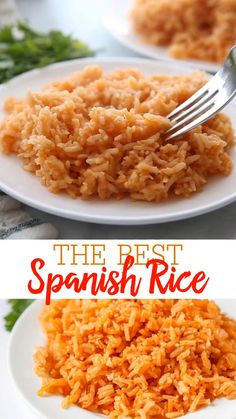 Mexican Rice Recipes, Easy Rice Recipes, Side Dish Recipes, Vegetarian Recipes, Cooking Recipes, Healthy Recipes, Easy Mexican Rice, Spanish Food Recipes, Simple Food Recipes