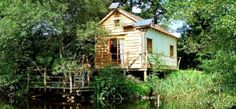 Fisherman's Cabin – Dordogne. An eco-friendly cabin on a private lake in France, filled with crafty curios to inspire you...