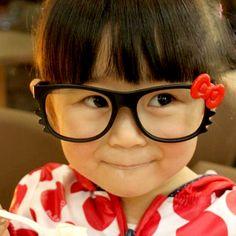 Absolutely adorable kids NO lens glasses frame :) #NoLensROCKS