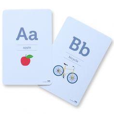 hardtofind.   Alphabet flash cards (pack of 26)