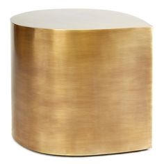 Jonathan Adler Brass Teardrop Table Brass Coffee Table