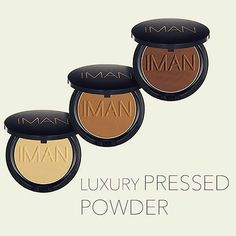 In my opinion  @imancosmetics makes by far the best pressed powders for #womenofcolor. These are available in 6 shades and could be gotten on www.teeka4.com.  #countingdown #comingsoon #teeka4
