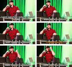 Stephen Amell and the costume riot.