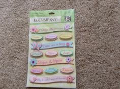 New  Scrapbooking Dimensional Glitter by YourScrapbookingShop, $2.69
