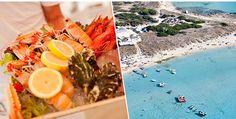 Restaurante mais conhecido da ilha de Formentera, o Juan y Andrea é especializado em frutos do mar frescos, dica da Sister Mari Cassou no Gallerist Blog.