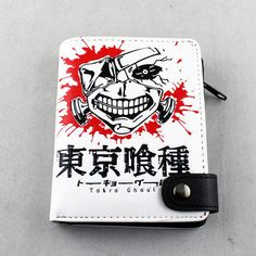 HOT Anime Tokyo Ghoul PU Wallet Purse Zipper Bag for Friend Birthday Toy Gift
