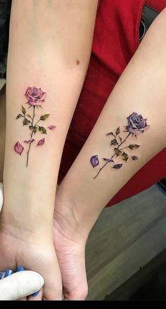 Twin Tattoos, Dainty Tattoos, Sister Tattoos, Friend Tattoos, Pretty Tattoos, Couple Tattoos, Beautiful Tattoos, Body Art Tattoos, Tribal Tattoos