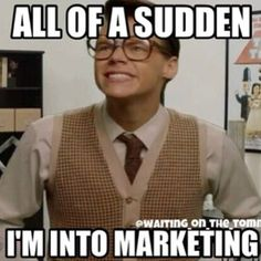 Marketing is very fun. You all like my gangsta impressions, don't you? - marcel styles