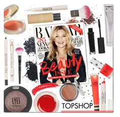 """Beauty Issue"" by justlovedesign ❤ liked on Polyvore featuring beauty, Topshop and topshop"